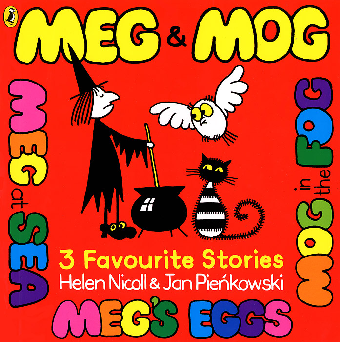 Meg and Mog. 3 Favourite Stories lacywear s 7 mog