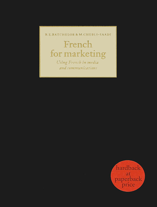 French for Marketing written in stone