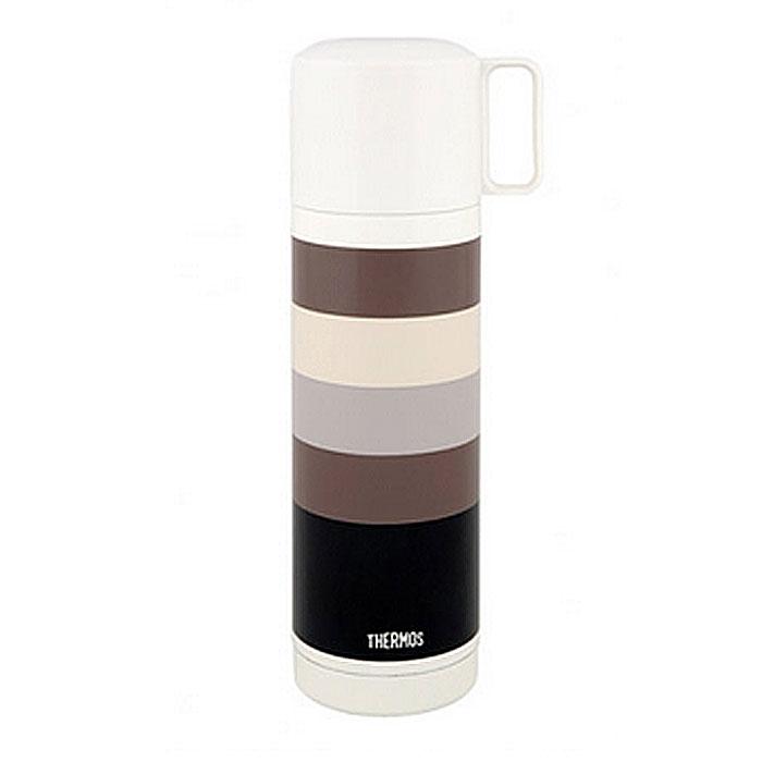 Термос для напитков Thermos Fej Black, 500 мл836090Термос для напитков Thermos Fej Black будет незаменим во время путешествий, поездок на пикник или на дачу. Особенности термоса Thermos Fej Black:внешние и внутренние стенки термоса выполнены из высококачественной нержавеющей стали, устойчивой к разрушению термос оснащен вакуумной технологией Thermax: Сохраняет тепло 8 часов, холод 24 часаширокое горло для использования кубиков льдапластиковая кнопка кнопочного типа для легкого открывания удобная пластиковая чашка с ручкой для питья открывающаяся пробка позволяет предотвратить проливание пробка откидывается одним нажатием руки благодаря встроенной пружине пробка легко разбирается для очистки яркий и стильный дизайн. Характеристики:Материал: нержавеющая сталь, пластик. Объем термоса:500 мл. Высота термоса (с учетом крышки):24 см. Диаметр основания термоса:6,5 см. Размер упаковки:8 см х 19 см х 8 см. Производитель:Китай. Артикул: 836090.