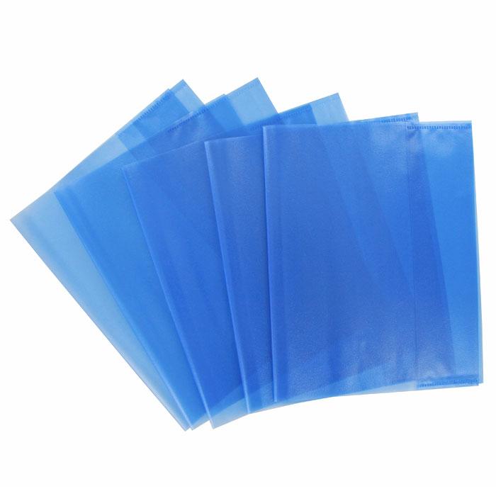 Обложка для тетрадей Panta Plast, формат А5, цвет: голубой, 5 шт05-0075-3Обложка для тетрадей Panta Plast выполнена из высококачественного цветного пластика с текстурой поверхности типа апельсиновая корка. Она надежно защитит тетрадь от изнашивания и загрязнения.Характеристики:Размер обложки: 21 см x 34,8 см. Толщина пленки: 95 мкм.