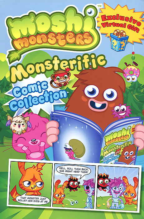 Moshi Monsters: Monsteriffic Comic Collection moshi monsters monsteriffic comic collection