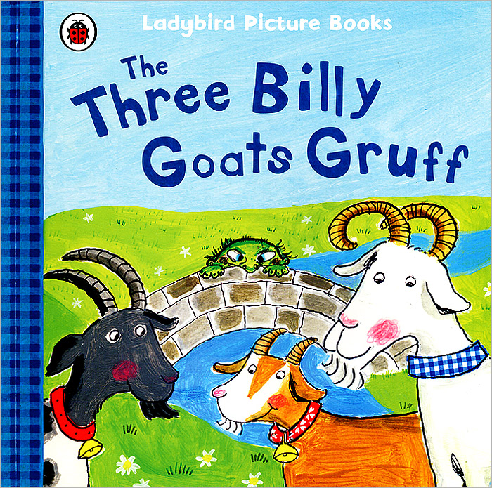 The Three Billy Goats Gruff кабели apple кабель md818zm a usb lightning белый 1м md818zm a