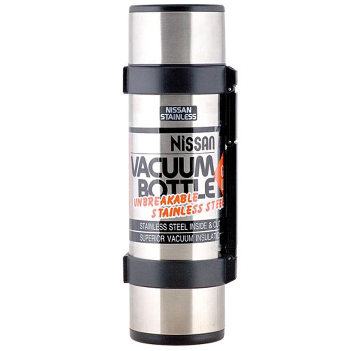 Термос Rocket, цвет: черный, 1,8 л835680Практичный и удобный термос Rocket прекрасно подойдет для транспортировки различных напитков. Он будет незаменим во время путешествий, поездок на пикник или на дачу. Особенности термоса Rocket: внешние и внутренние стенки термоса выполнены из высококачественной медицинской нержавеющей стали, устойчивой к разрушению легкость и прочность внешней колбы позволяет использовать модель в любых ситуациях технология вакуумной изоляции Thermax позволяет длительное время сохранять температуру содержимого термоса: тепло - 48 часов, холод - 48 часатехнология сохранения веса при увеличении объема термос оснащен герметичной поворотной пробкой закрывается завинчивающейся крышкой из нержавеющей стали и пластика, которую можно использовать как чашку в комплект входит дополнительная пластиковая чашка прочная складная ручка из пластика делает использование термоса легким и удобным конструкция стоп - приспособления на корпусе термоса, позволяет фиксировать его в горизонтальном положении для дополнительного удобства термос оснащен ремнем с регулируемой длиной, позволяющим носить его через плечо. Термосы серии NCB - воплощение безупречного качества и инновационных технологий торговой марки Thermos. Модели разработаны японской корпорацией Nissan Thermos с применением технологии производства глубокого вакуума TherMax и занимает лидирующее место по температурным характеристикам. Характеристики:Материал: нержавеющая сталь, пластик, текстиль. Объем термоса: 1,8 л. Высота термоса (с учетом крышки): 35 см. Диаметр основания термоса:10,5 см. Диаметр пластиковой чашки (по верхнему краю):9 см. Высота пластиковой чашки:4 см. Размер упаковки: 13 см х 36 см х 11,5 см. Производитель:Китай. Артикул:835680.