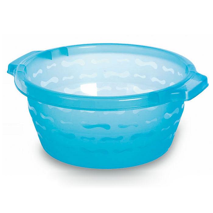 Таз Gensini, цвет: голубой, 7,5 л2429Таз Gensini изготовлен из высококачественного полупрозрачного пластика. Он выполнен в классическом круглом варианте. Для удобного использования таз снабжен двумя ручками. Благодаря легкости и современному дизайну таз Gensini станет незаменимым помощником и отлично впишется в интерьер вашей ванной комнаты.