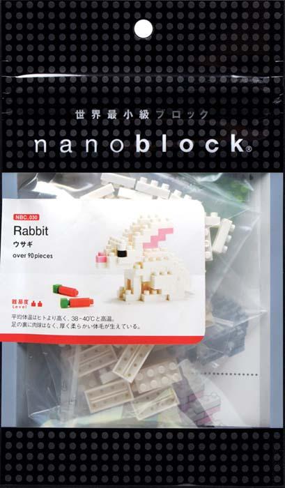 NanoBlock Мини-конструктор Кролик