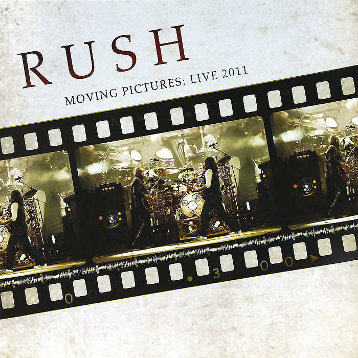 Rush Rush. Moving Pictures: Live 2011 (LP) moving pictures