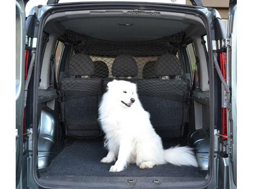 """Comfort Address Сетка на спинку заднего сидения """"Comfort Adress"""" для перевозки собак, 120 см х 85 см set 051"""
