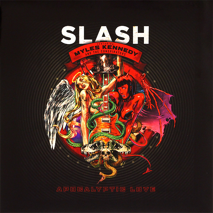 Slash,Майлс Кеннеди,The Conspirators Slash Featuring Myles Kennedy & The Conspirators. Apocalyptic Love (2 LP) john f kennedy the brave