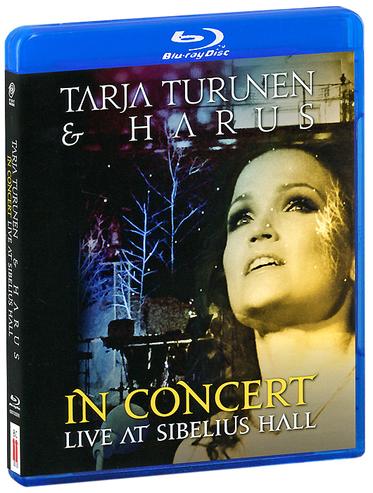 Tarja Turunen & Harus: In Concert Live At Sibelius Hall (Blu-ray + CD) the berlin concert domingo netrebko villazon blu ray