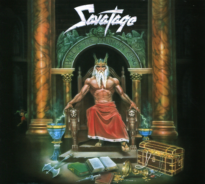 Savatage Savatage. Hall Of The Mountain King стойка для грифов и штанг iron king ikl 1029