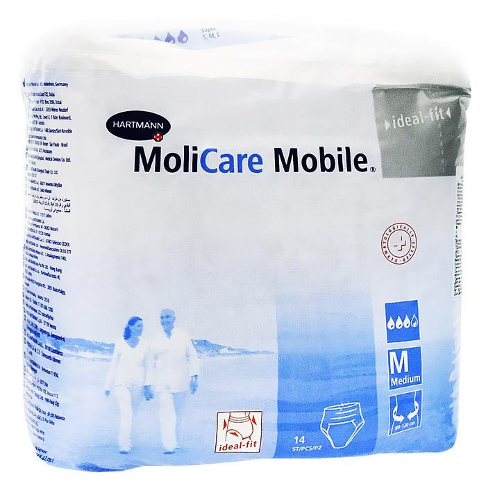 "Трусы при недержании ""Molicare Mobile"", M (medium), 14 шт"