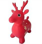 Игрушка надувная Bradex  Попрыгунчик Олененок , цвет: красный -  Каталки, понициклы