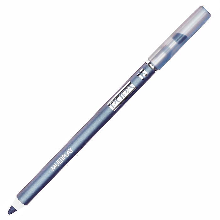 PUPA Карандаш для век с аппликатором Multiplay Eye Pencil, тон 13 небесный голубой , 1.2 г244013Pupa Multiplay - карандаш для глаз 3 в 1. Сочетает в себе эффект карандаша для глаз для интенсивного цвета, эффект подводки и эффект теней для век. В состав карандаша входит масло жожоба, витамин Е и масло семени хлопчатника для защитного и успокоительного эффекта.Исключительная кремообразная текстура и латексный аппликатор обеспечивают легкое и безупречное нанесение. Характеристики:Вес: 1,2 г. Тон: №13. Производитель: Италия. Артикул: 244013. Товар сертифицирован. Pupa - итальянский бренд, принадлежащий компании Micys. Компания была основана в 1970-х годах в Милане и стала любимым детищем семьи Гатти.Pupa - это декоративная косметика для тех, кто готов экспериментировать, создавать новые образы и менять свой стиль в поисках новых проявлений своей индивидуальности. Яркие цвета Pupa воплощают в себе особенное видение красоты как многогранного сочетания чувственности и эпатажа, нежности и дерзости, изысканности и простоты.Pupa не забывает и о здоровье, прежде всего - здоровье кожи. Составы косметики Pupa тщательно тестируются на безопасность для кожи и постоянно совершенствуются по мере появления новых научных разработок.