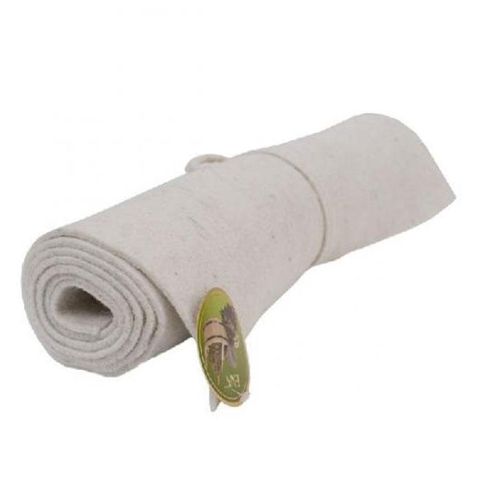 Коврик для бани и сауны, цвет: белый, 160 x 50 см сауны бани и оборудование five wien халат jizel цвет сухая роза ххххl