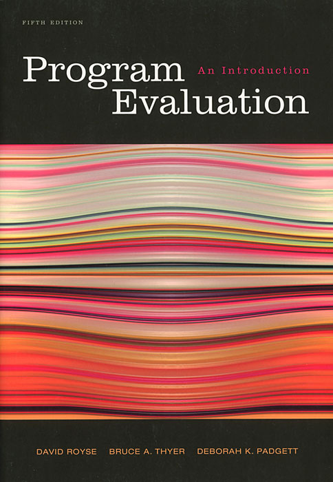 Program Evaluation: An Introduction 3310