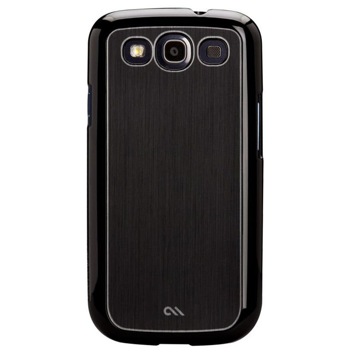 Case-Mate Barely There Aluminium для Samsung Galaxy SIII, Black (CM021202) bra barely there