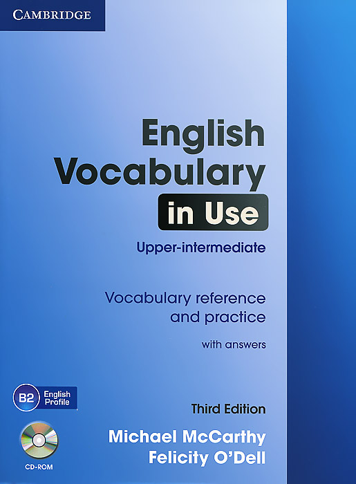 English Vocabulary in Use: Upper-intermediate: With Answers (+ CD-ROM) murder by art level 5 upper intermediate cambridge english readers