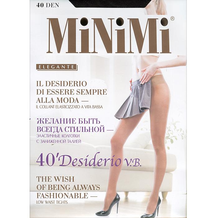 Колготки Minimi Desiderio V.B. 40, цвет: черный (nero). Размер 3 (M) цены онлайн