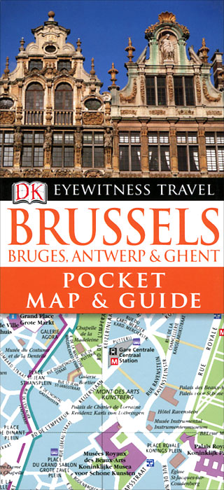 Brussels, Bruges, Antwerp & Ghent: Pocket Map & Guide the brussels 1 regulation 44 2001