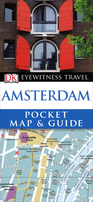 Amsterdam: Pocket Map & Guide amsterdam city map
