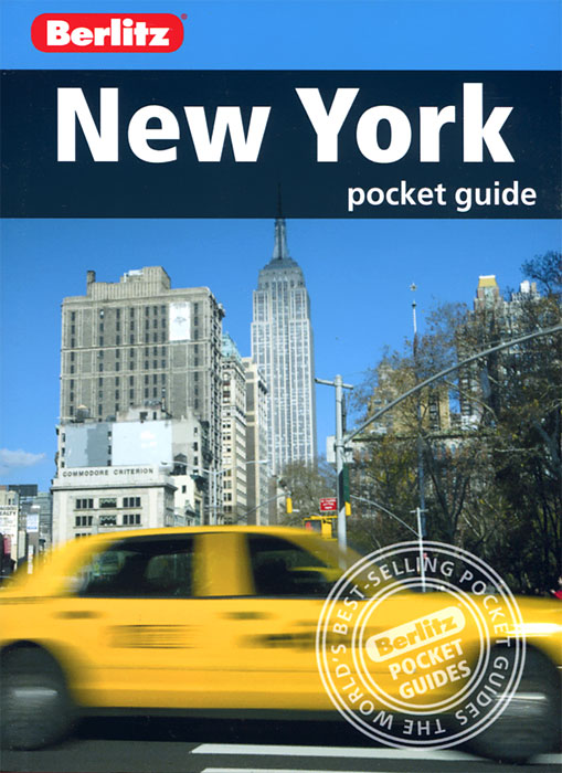 New York: Berlitz Pocket Guide brooklyn bridge pop up card 3d new york souvenir cards