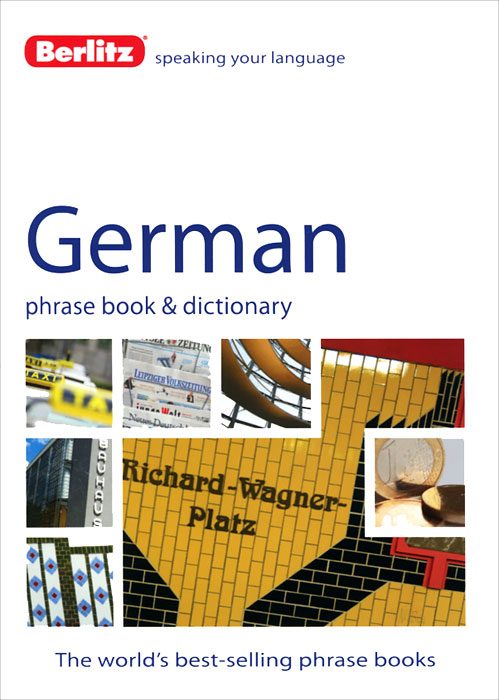 Berlitz: German Phrase Book and Dictionary russian phrase book