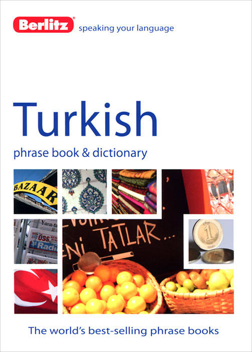 Berlitz Turkish Phrase Book and Dictionary russian phrase book