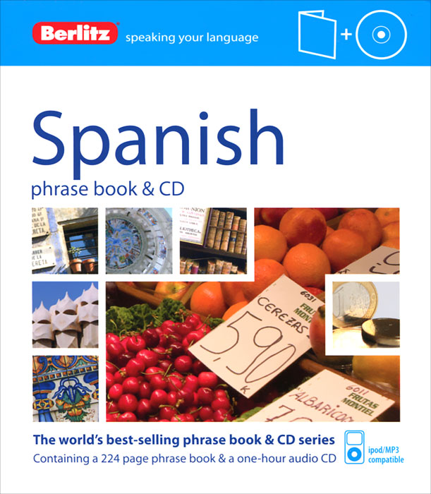 Spanish Phrase Book (+ CD) russian phrase book
