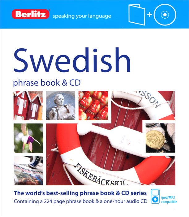 Swedish Phrase Book (+ CD) russian phrase book