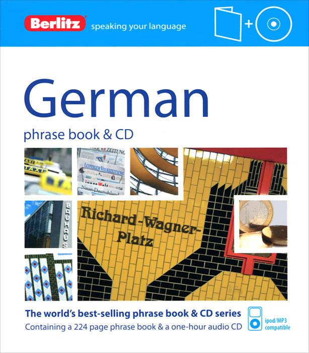 German Phrase Book (+ CD) russian phrase book