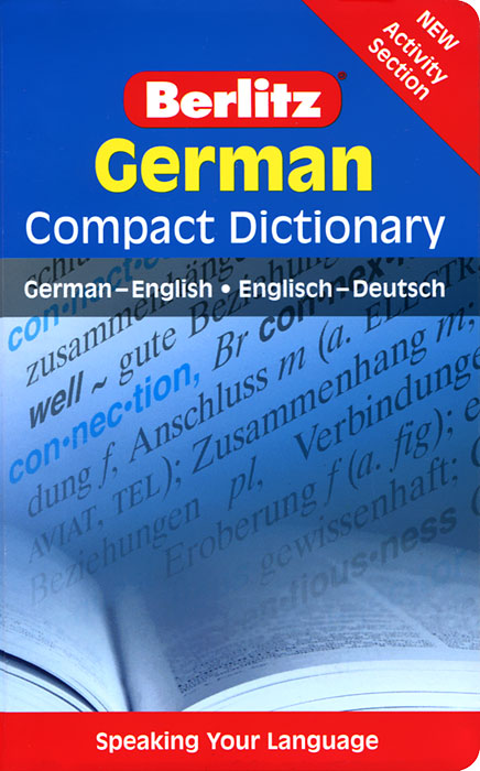 Berlitz German Compact Dictionary: German-English/Englisch-Deutsch new eli picture dictionary cd rom german