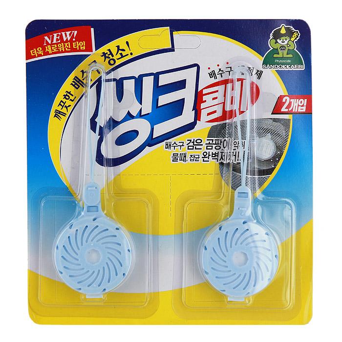 Очиститель для слива раковины Sink Combi, 15 г, 2 шт саженец слива домашняя 2 х летняя синий дар