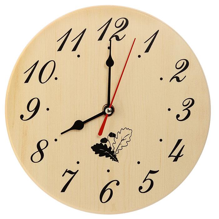Часы в предбанник Невский банщикБ-1131Часы в предбанник выполнены из дерева, поэтому они отлично подойдут для использования в бане и сауне. Часы имеют три стрелки: часовую, минутную и секундную. Часы не боятся высоких температур и влажности. Благодаря таким часам вы сможете правильно определить длительность процедур. Деревянные часы станут прекрасным аксессуаром, а их дизайн поможет выдержать стиль традиционной бани. Характеристики:Материал: дерево (сосна), пластик, металл. Размер часов:19,5 см х 19,5 см х 2 см. Размер упаковки: 23 см х 20,5 см х 3,8 см. Изготовитель: Китай. Артикул: Б-1131. Работают от 1 батарейки типа АА (не входит в комплект).