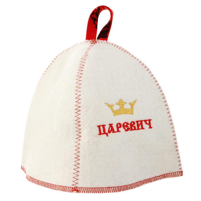 Шапка для бани и сауны Царевич шапки для бани метиз шапка для бани с вышивкой в косметичке адмирал бани