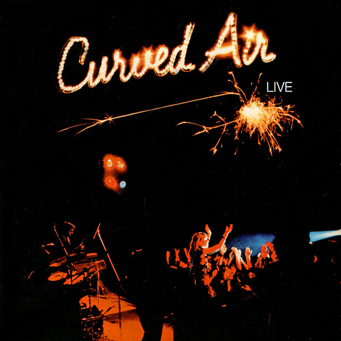 Curved Air CURVED AIR Live CD DigiSleeve ultra loud bicycle air horn truck siren sound 120db