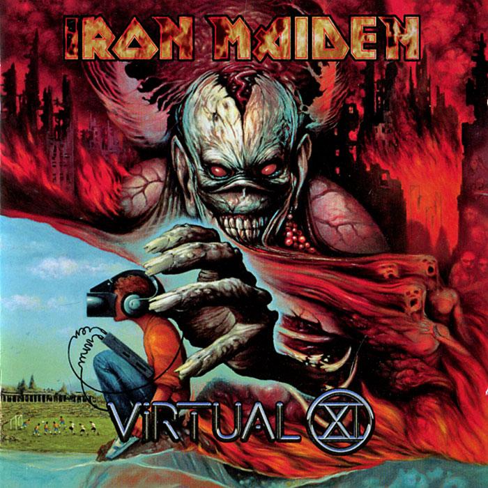 Iron Maiden Iron Maiden. Virtual XI cd iron maiden a matter of life and death