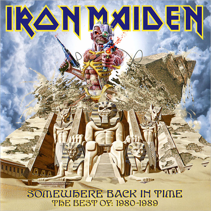 Iron Maiden Iron Maiden. Somewhere Back In Time. The Best Of 1980-1989 виниловая пластинка iron maiden somewhere in time