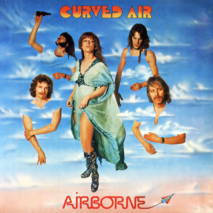 Curved Air CURVED AIR Airborne CD DigiSleeve airborne pollen allergy
