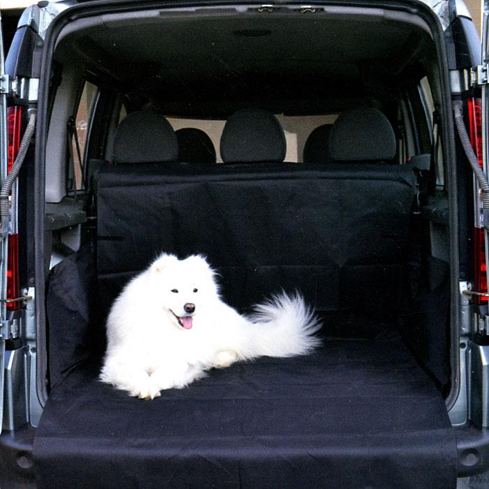 Накидка в багажник Comfort Adress для перевозки собак, 120 см х 150 см х 70 смdaf049Накидка для перевозки собак Comfort Adress, выполненная из прочного, водоотталкивающего материала (600D), отлично защищает заднее сидение, дно и боковые стенки багажника от загрязнений, повреждений и шерсти животных. Накидка затрудняет передвижение животных по салону, закрывая проход между передними сиденьями. Также накидку можно использовать для перевозки груза, который может загрязнить заднее сидение. Накидка для перевозки собак имеет простую и удобную систему установки. Характеристики: Материал: непромокаемая ткань ПВХ 600D. Размер: 120 см х 150 см х 70 см. Цвет:черный. Производитель: Россия. Артикул: daf 049.