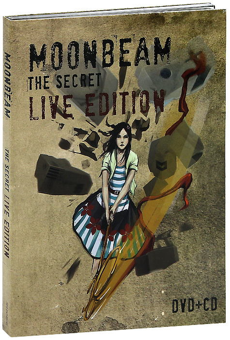 Moonbeam: The Secret, Live Edition (DVD + CD) музыка cd dvd celine through the eyes of the world dvd