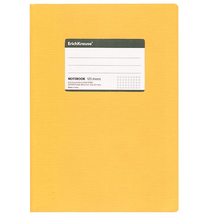 Тетрадь Fluor Color, цвет: оранжевый, 120 листов, В527967Общая тетрадь Fluor Color со скругленными уголками представляет новую линию универсальных общих тетрадей Erich Krause, предназначенных для студентов, учеников старших классов, преподавателей и для всех тех, кому важно записывать и надежно хранить нужную информацию. Яркая оранжевая обложка из ламинированного картона добавит новых ноток в рабочие будни. Внутренний блок выполнен из белой бумаги в серую клетку без полей. На обложке расположена наклейка для подписи тетради. Характеристики:Материал: картон, бумага. Размер тетради: 17 см х 24 см х 1,1 см. Формат: В5. Количество листов: 120. Изготовитель: Индия.