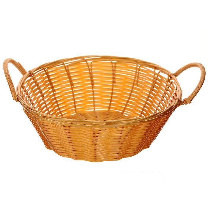 Корзинка плетеная Oriental Way Мульти, круглая. Диаметр 20,5 смMJ-PP009BRПлетеная корзинка Oriental Way Мульти изготовлена из устойчивого к воздействию окружающей среды полипропилена. Идеально подходит для хранения выпечки, конфет, фруктов, косметики, рукоделия и оформления подарков. По бокам корзинки расположены удобные ручки из полипропилена. Срок эксплуатации корзины может составлять десятки лет. Она не требует тщательного ухода, не впитывает запахи, не боится воды и не разрушается от перепада температур. Плетеная корзинка Oriental Way Мульти отлично впишется в интерьер вашего дома. Характеристики:Материал: полипропилен. Диаметр корзинки: 20,5 см. Высота корзинки (без учета ручек): 7,5 см. Производитель: Китай. Артикул: MJ-PP009BR.