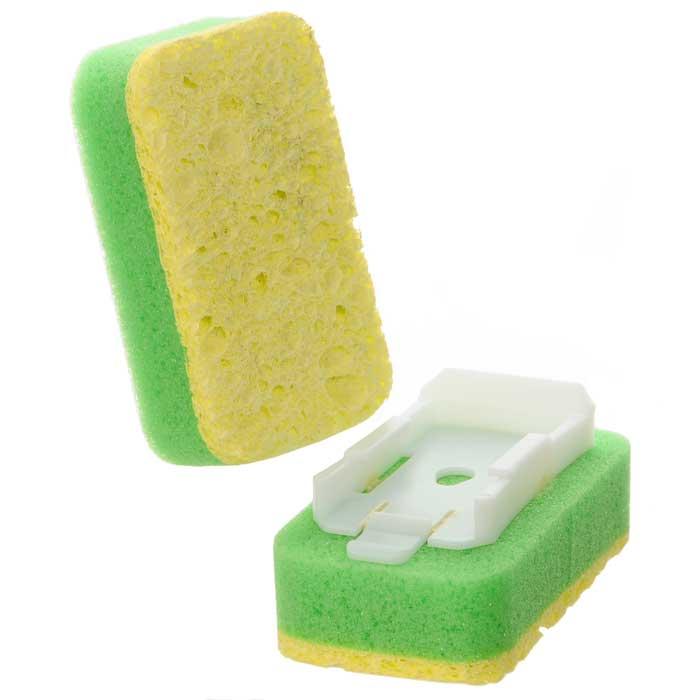 Губка Libman сменная, 2 шт. 0003100031Сменная губка Libman выполнена из целлюлозы. Губка прекрасно очищает сильные загрязнения, не царапая поверхность. В комплекте 2 губки. Характеристики: Материал: пластмасса, целлюлоза. Размер губки: 9 см х 5 см х 2,5 см. Комплектация: 2 шт. Артикул: 00031.Компания Libman основана в 1896 году выходцем из Латвии Вильемом Либманом, задавшимся целью создавать высококачественные и долговечные изделия для уборки - веники, из сельскохозяйственных отходов и стеблей сорго. Унаследовавшие бизнес, сыновья Вильяма Либмана, не только сохранили компанию во время Великой депрессии, но укрепили и расширили ее. В 1980 году были введены новейшие технологии, позволившие компании стать одной из крупнейших в США по производству уборочного инвентаря.На сегодняшний день Libman - это компания с мировым именем, благодаря высокому качеству и разнообразию уборочного инвентаря, признана потребителями всего мира.