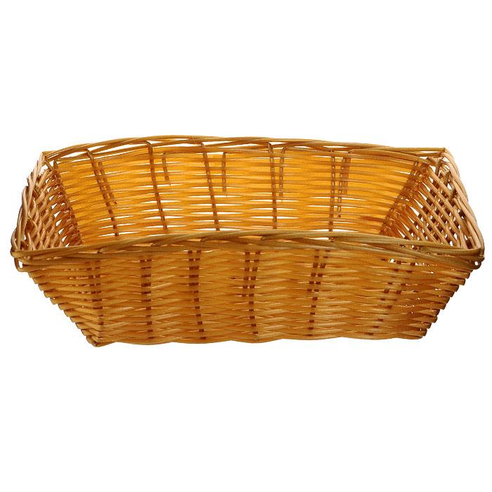 Корзинка плетеная Oriental Way Мульти, прямоугольная, 23 см х 15 смMJ-PP010BRПлетеная корзинка Oriental Way Мульти изготовлена из устойчивого к воздействию окружающей среды полипропилена. Идеально подходит для хранения выпечки, конфет, фруктов, косметики, рукоделия и оформления подарков. Срок эксплуатации корзины может составлять десятки лет. Она не требует тщательного ухода, не впитывает запахи, не боится воды и не разрушается от перепада температур. Плетеная корзинка Oriental Way Мульти отлично впишется в интерьер вашего дома. Характеристики:Материал: полипропилен. Размер корзинки: 23 см х 15 см х 6,5 см. Производитель: Китай. Артикул: MJ-PP010BR.