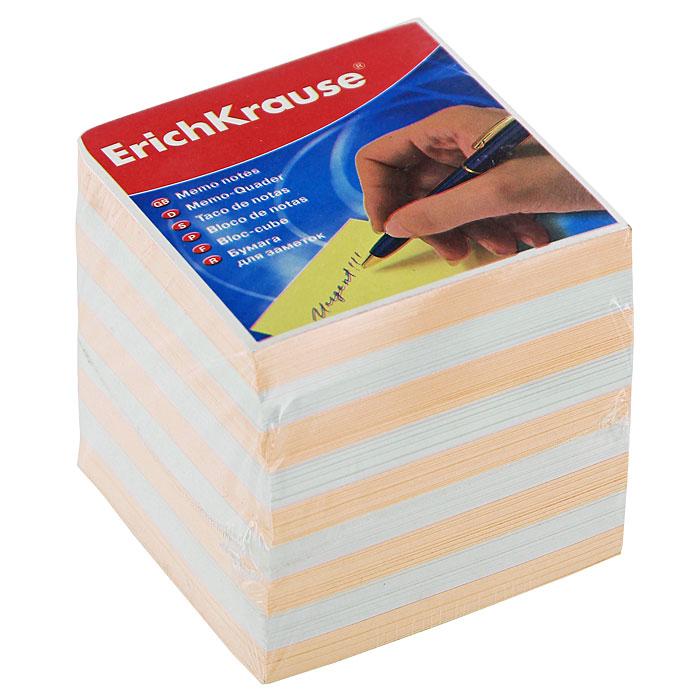 Бумага для заметок Erich Krause, цвет: персиковый, белый, 9 см х 9 см х 9 см6602Бумага для заметок Erich Krause прекрасно подойдет для записи номеров телефонов, адресов, напоминания о важной встрече или внезапно пришедшей полезной мысли.Блок включает бумагу двух цветов: персикового и белого. Характеристики:Размер листа: 9 см x 9 см. Размер блока: 9 см x 9 см x 9 см.