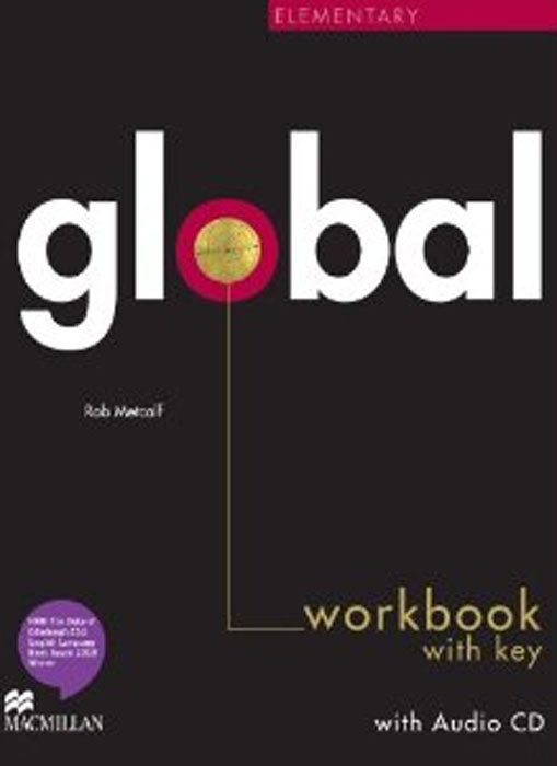 Global Elementary: Workbook with Key (+ CD-ROM) outcomes elementary workbook workbook key cd