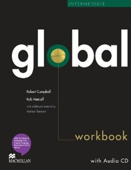 Global Intermediate: Workbook (+ CD-ROM) global pre intermediate workbook dvd rom