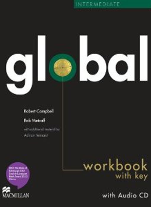 Global Intermediate: Workbook with Key (+ CD-ROM) new total english intermediate workbook with key cd