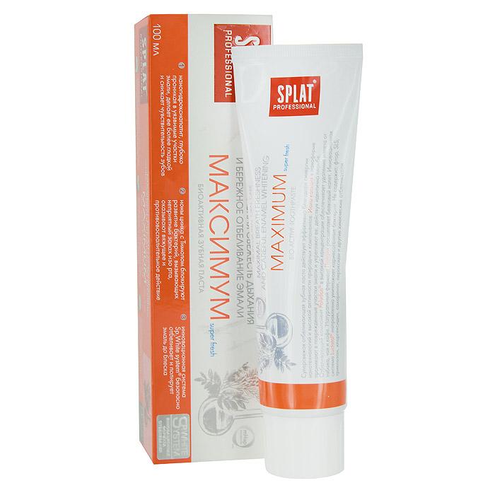 "Зубная паста Splat Professional ""Maximum/Максимум"", биоактивная, 100 мл"