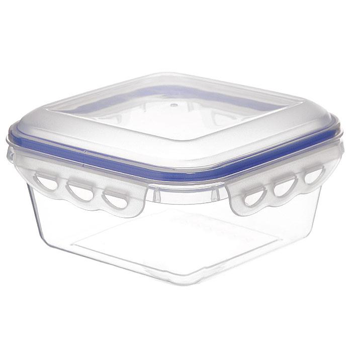Контейнер для СВЧ NeoWay Enjoy квадратный, 0,9 лZP1024BКвадратный контейнер для СВЧ NeoWay Enjoy, выполненный из высококачественного пластика, это удобная и легкая тара для хранения и транспортировки бутербродов, порционных салатов, мяса или рыбы, горячих и холодных блюд, даже жидких продуктов. Контейнер 100% герметичен. Крышка оснащена четырьмя специальными защелками и силиконовым уплотнителем. Клипсы (защелки) позволяют произвести защелкивание более чем 400000 раз. Пустотелый силиконовый уплотнитель имеет большую гибкость и лучшее прилегание. Контейнеры могут быть вставлены один в другой, что позволяет сэкономить много пространства. Контейнер для СВЧ NeoWay Enjoy выдерживает температуру в диапазоне от -20°C до +120°C, его можно мыть в посудомоечной машине и нельзя нагревать пустым. Характеристики:Материал: пластик. Объем контейнера: 0,9 л. Размер контейнера: 15 см х 15 см. Высота контейнера (без учета крышки): 6,5 см. Производитель: Китай. Артикул: ZP1024B.